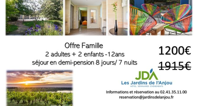 OFFRE FAMILLE 7NUITS